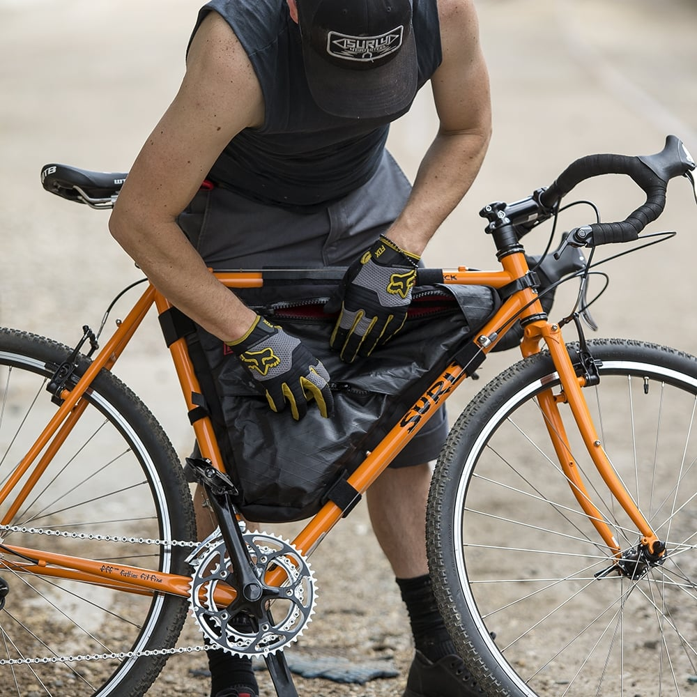 Surly Straggle-Check Frame Bag | Triton Cycles