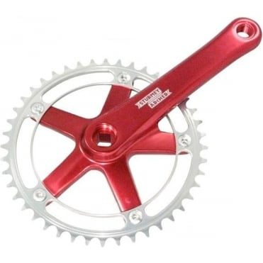 Sturmey Archer FCT62 Chainset - Red