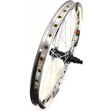 "Custom 20"" Rear BMX Wheel - Chrome"