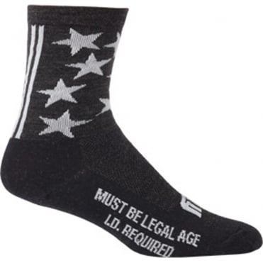 """Surly 1st Ave 5"""" Wool Sock"""