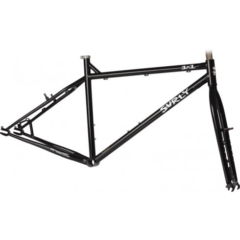 Surly 1x1 Single Speed Mountain Bike Frameset - Black