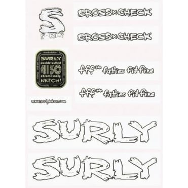 Surly Big Dummy Frame Decal Kit