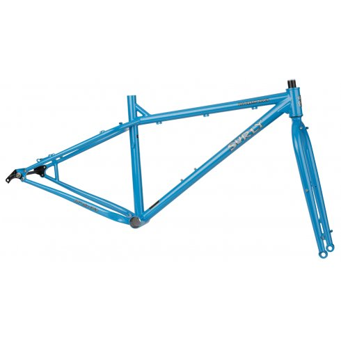 Surly Ice Cream Truck Frameset 2015 - Jack Frost Blue