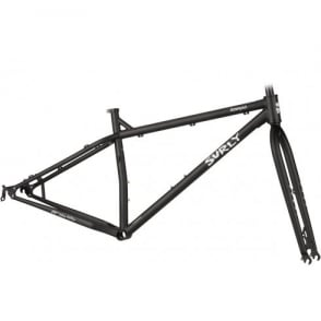 Surly Krampus Ops 29+ Frameset - Flat Black