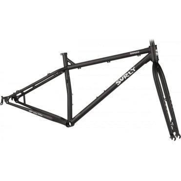 Surly Krampus Ops 29+ Frameset - Flat Black