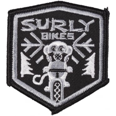 Surly Snow Monkey Iron-On Patch
