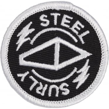 Surly Steel Round Iron-On Patch