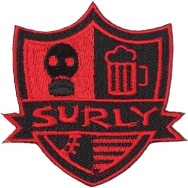 Surly Stripes Iron-On Patch