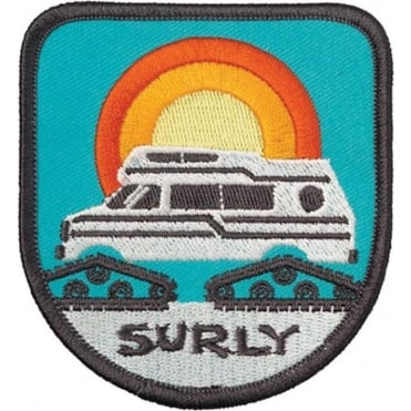 Surly Super Sunburst Iron-On Patch