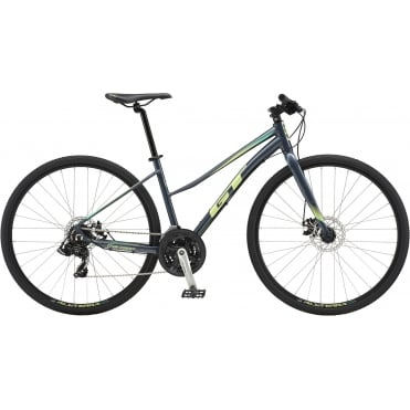 Transeo Sport Step-Thru Hybrid Bike 2018