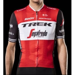 Trek-Segafredo Men s Team Cycling Jersey. Santini ... fcf14bec3