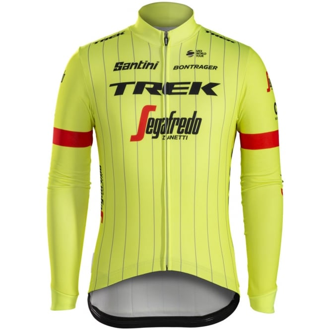 Santini Trek-Segafredo Team Thermal Long Sleeve Jersey