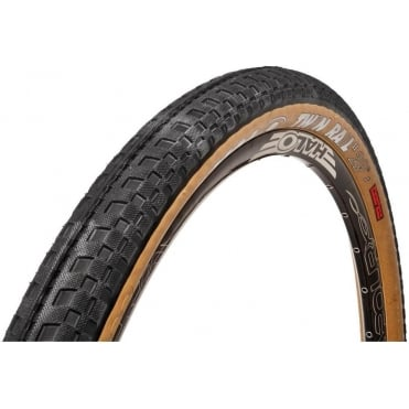 Twin Rail 2 SLR Tyre - Black/Skin 60Tpi