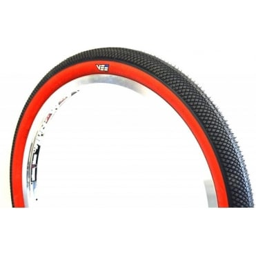 Vee Tire Speedster Folding BMX Tyre - Red Sidewall