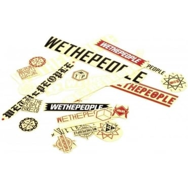 Wethepeople Sticker Pack 15