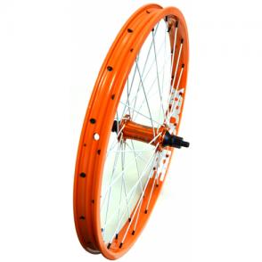 "Xposure Custom 20"" Front BMX Wheel - Orange"