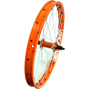"Xposure Custom 20"" Front BMX Wheel - Orange"